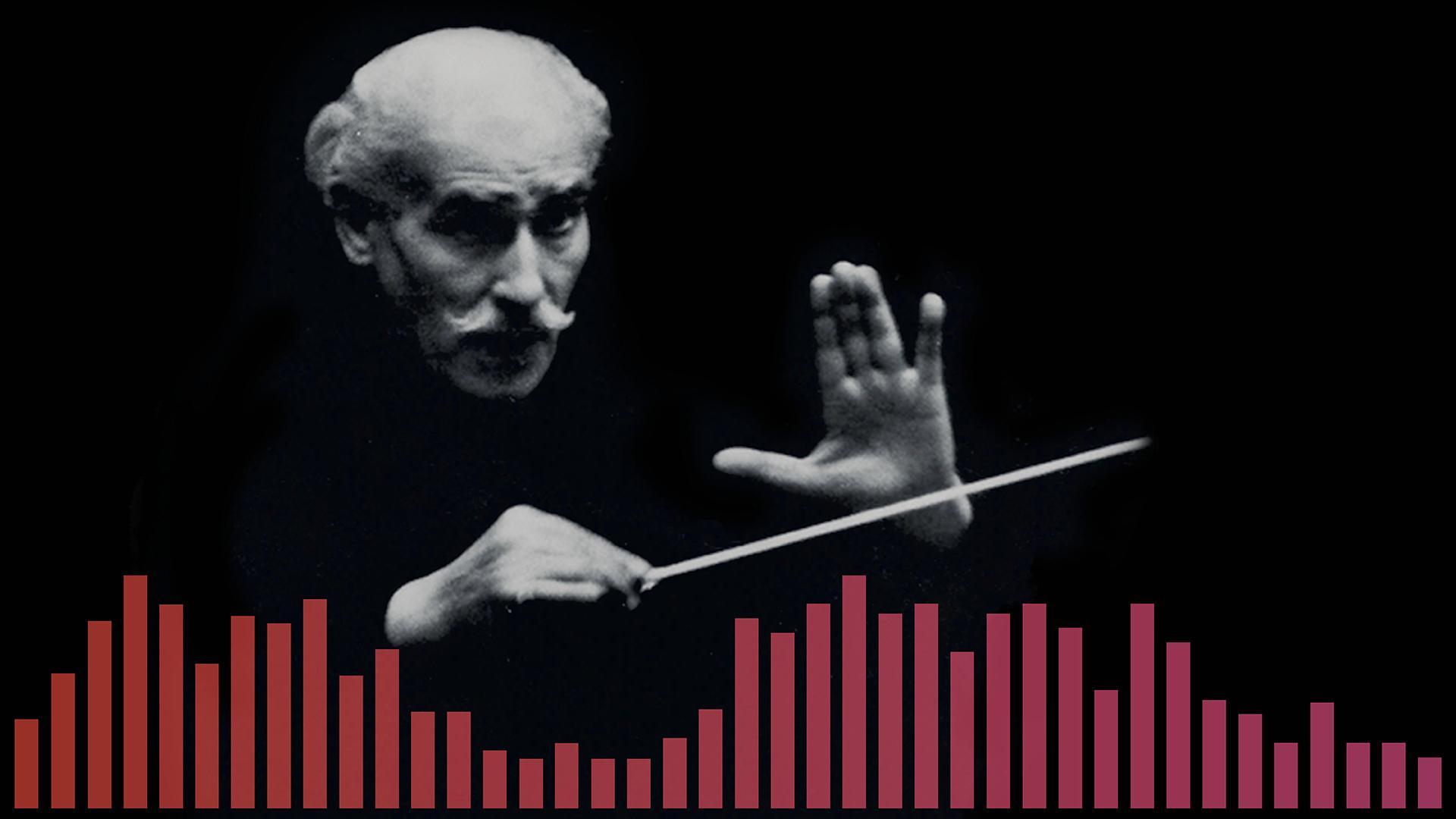 Arturo Toscanini conducting the NBC Symphony Orchestra, n.d.