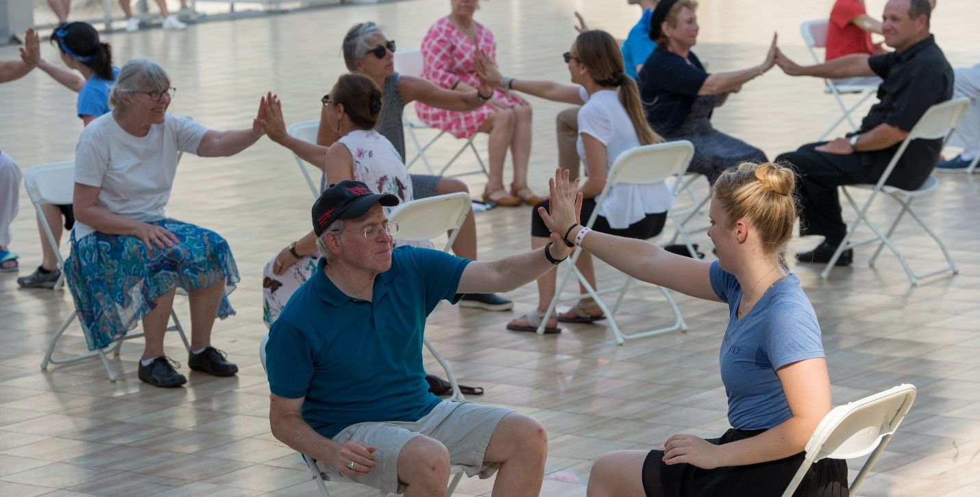 What's an Adaptive Dance Lesson?