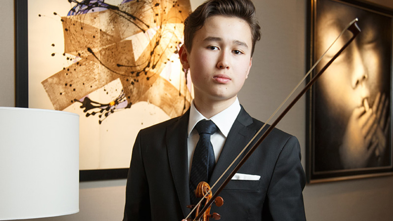 Daniel Lozakovich, violin (New York debut) George Li, piano (Mostly Mozart Festival debut)