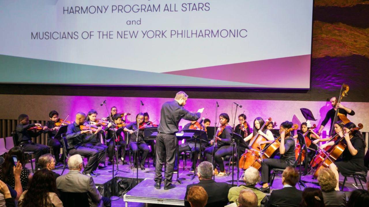 NY Philharmonic Harmony All-Stars