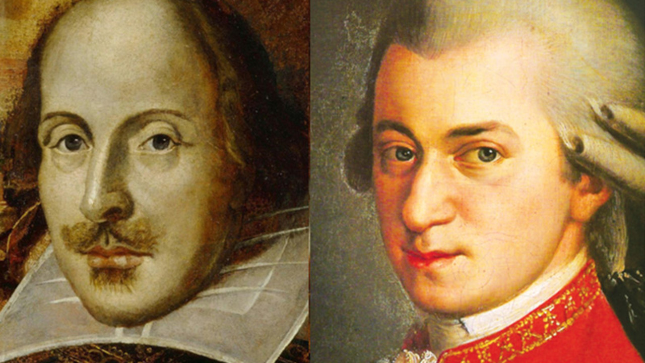 Shakespeare vs. Mozart: The Rematch