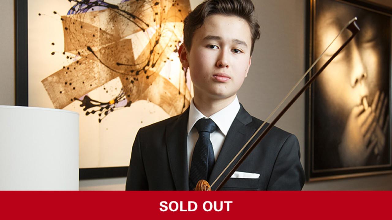 Daniel Lozakovich, violin, George Li, piano