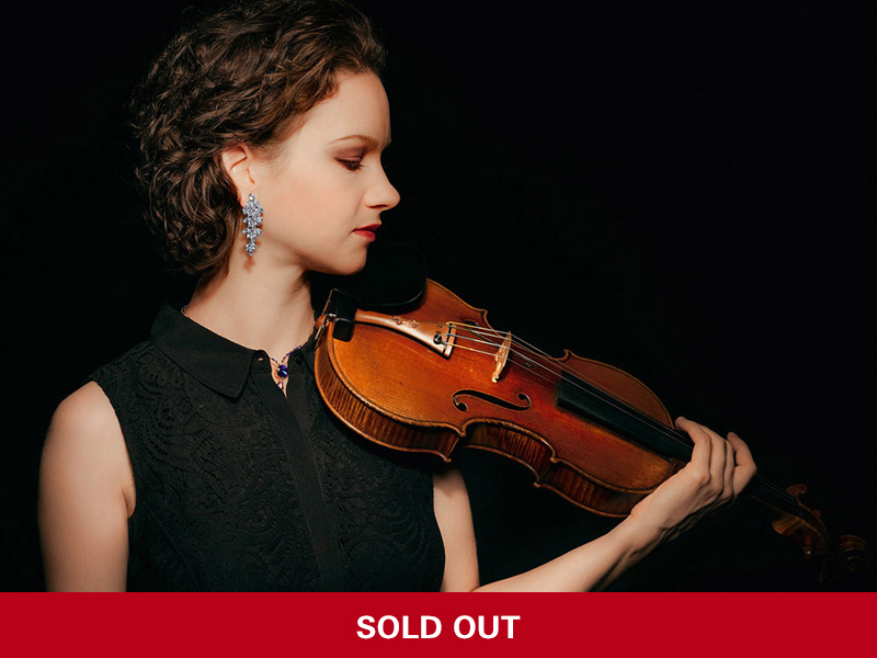 Hilary Hahn, solo violin