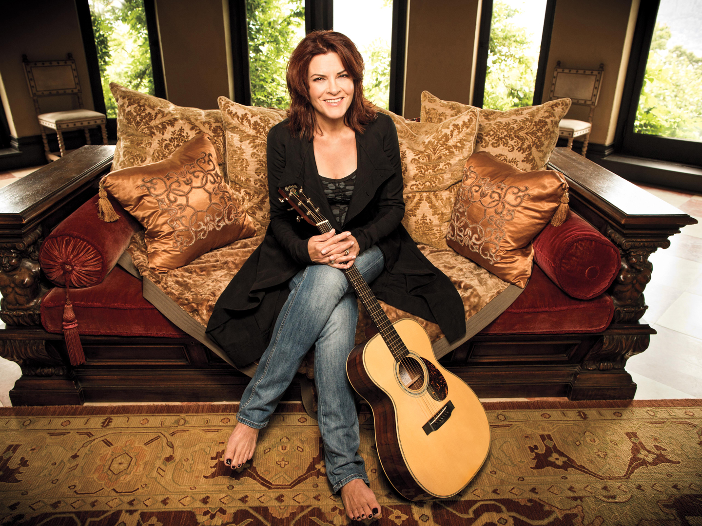 Rosanne Cash: A Music Legend at the Rose