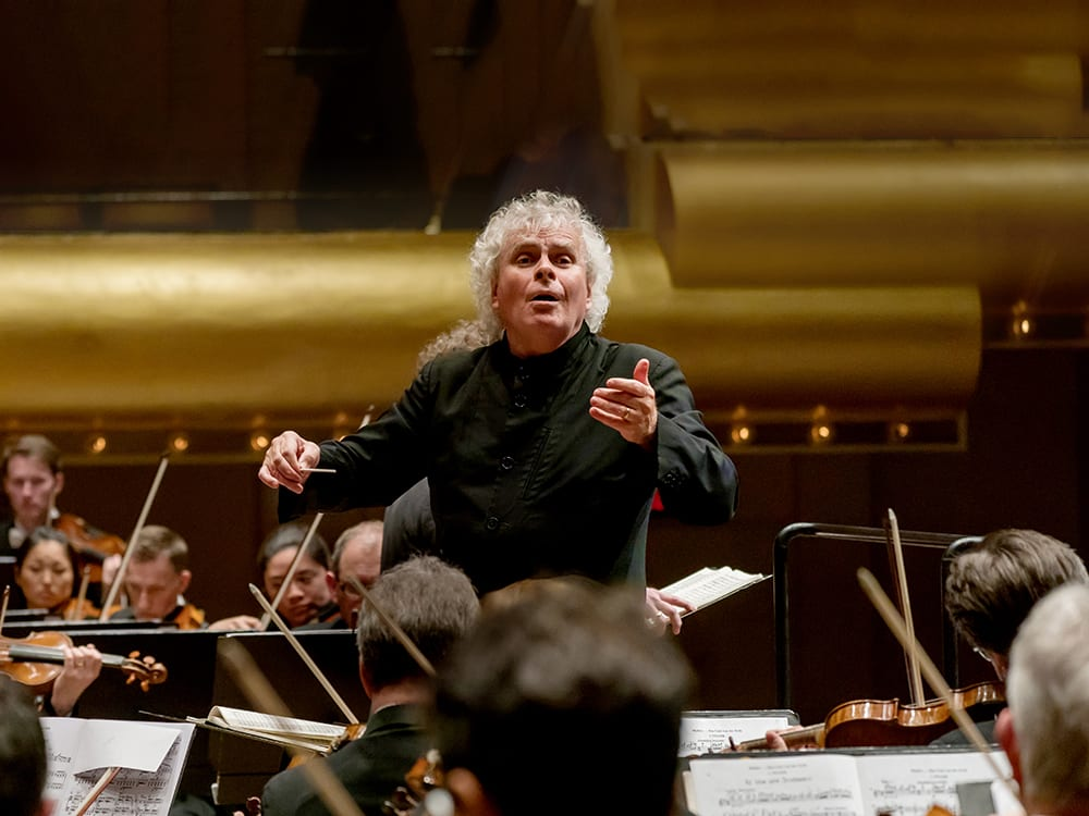 London Symphony Orchestra with Sir Simon Rattle