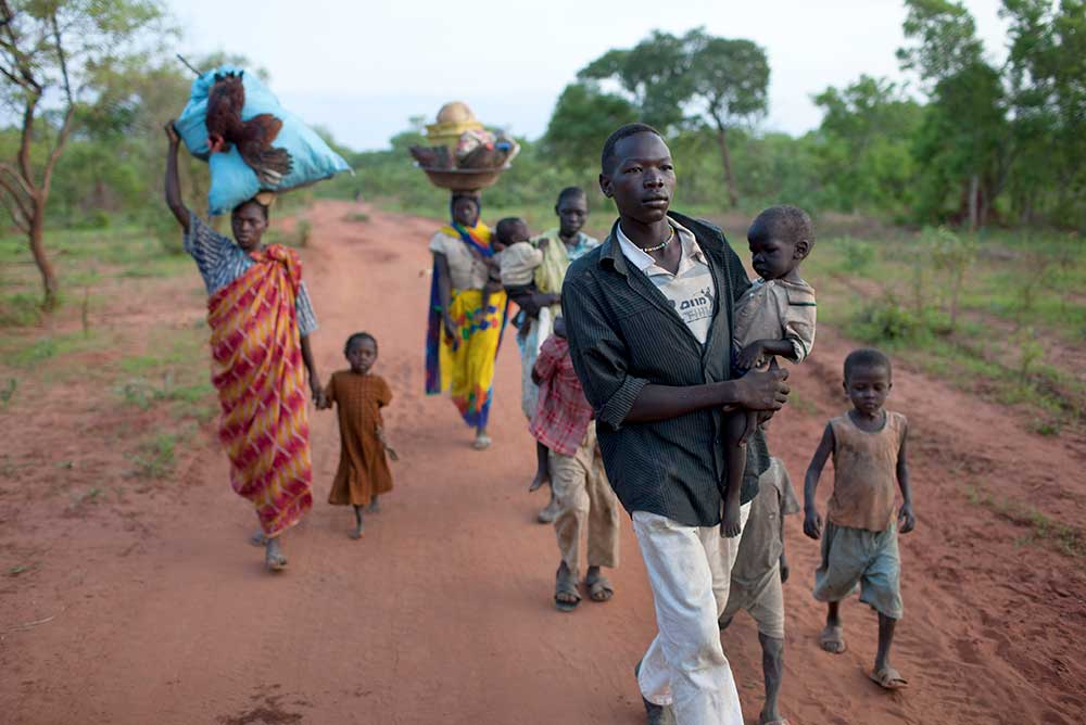 Refugees in South Sudan, 2012.