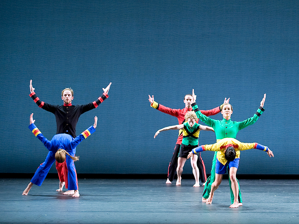 Mark Morris Dance Group performs Empire Garden