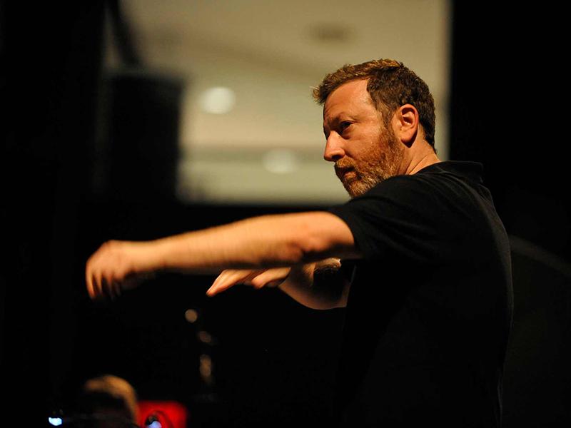 Conductor Brad Lubman