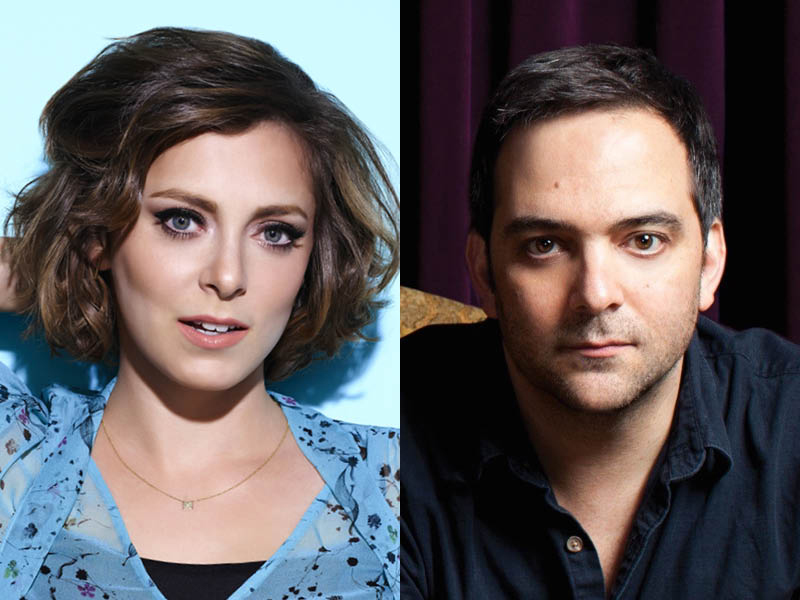 Rachel Bloom as Rebecca Bunch / Adam Schlesinger