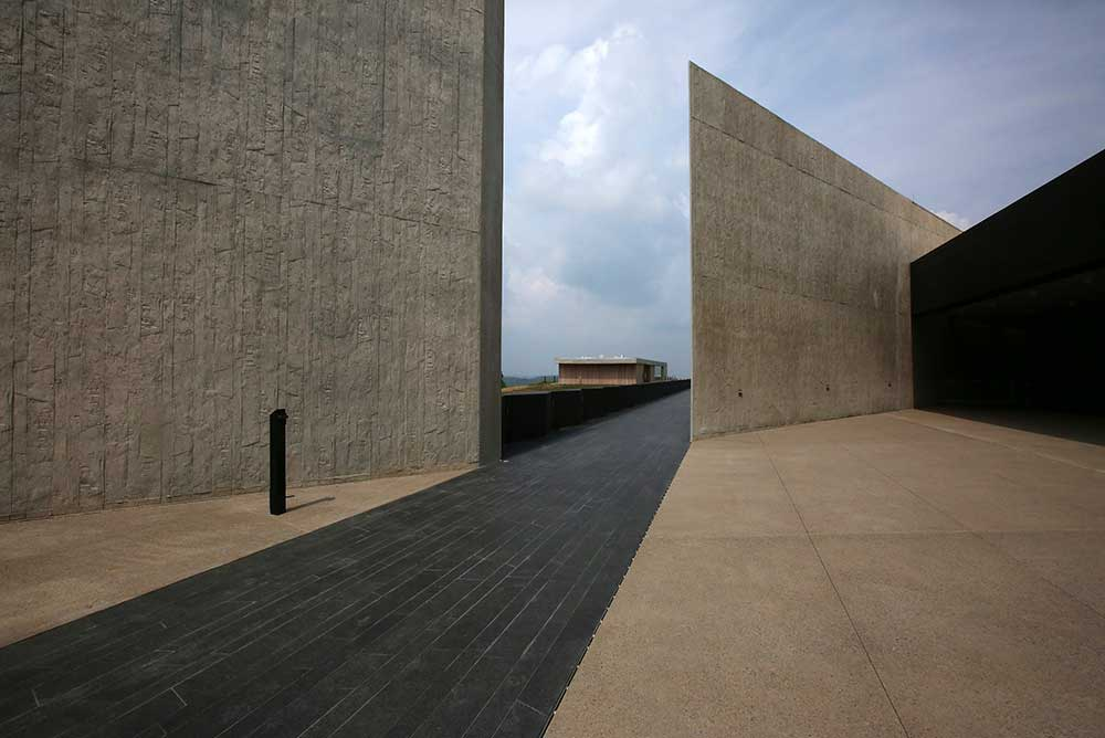 Flight 93 National Memorial in Shanksville, Pennsylvania, 2015.