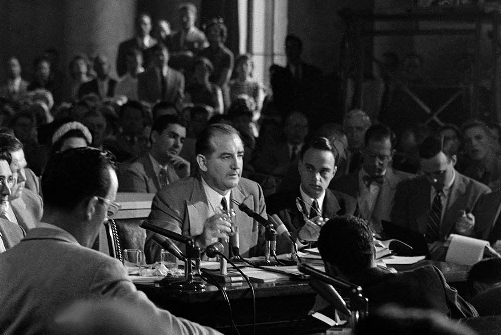 Army McCarthy hearings, 1954.