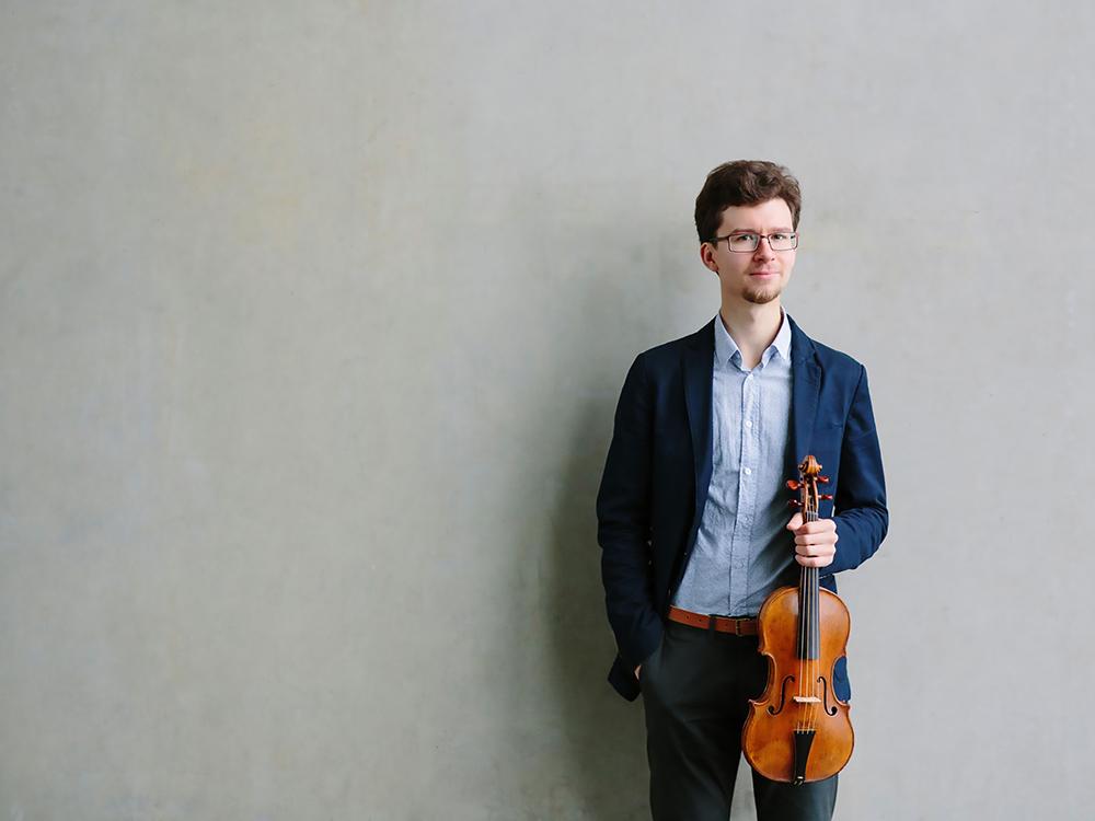 Evgeny Sviridov, violin
